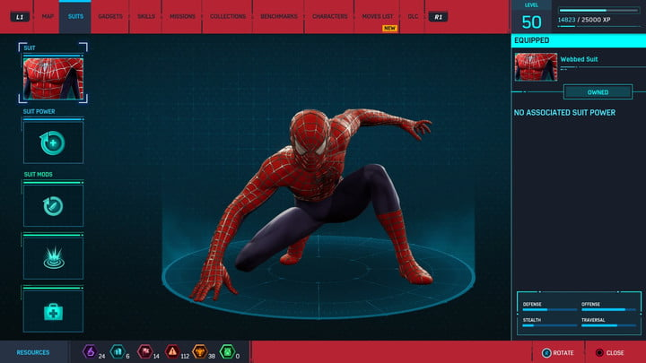 marvels spider man ps4 how to unlock every suit marvel s 20181222170827