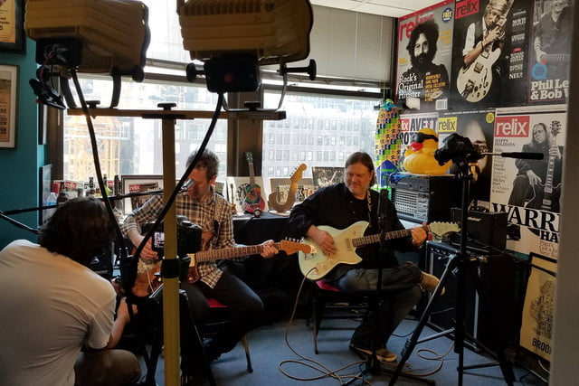 Matthew Sweet Relix recording session