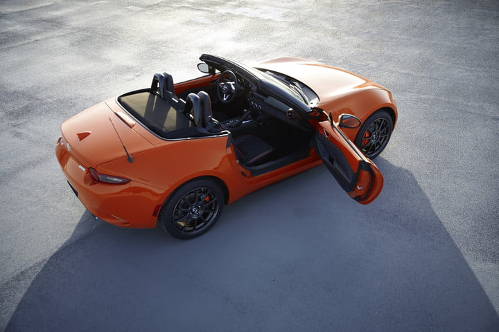The Mazda MX-5 Miata's orange birthday treat sells out online in mere hours
