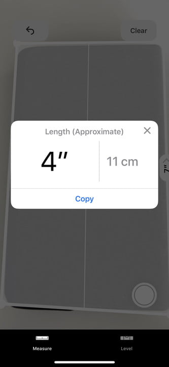 how to use the measure app in ios 12 5