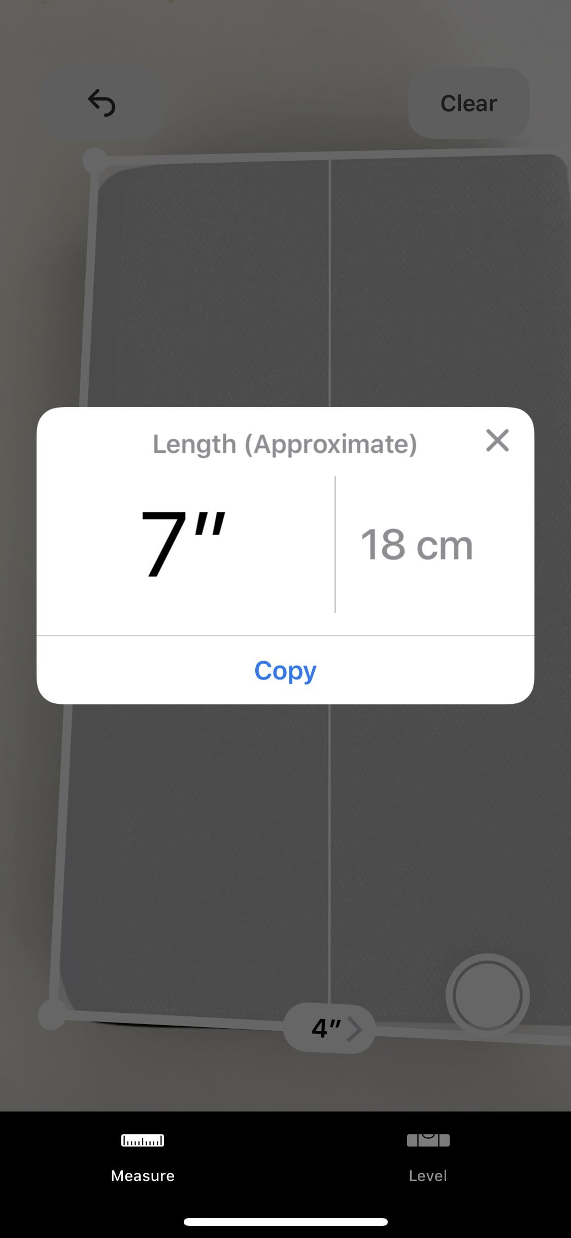 How To Use Apples Augmented Reality Measure App In Ios 12 Digital