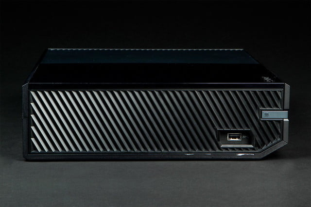 microsoft xbox one review console left side