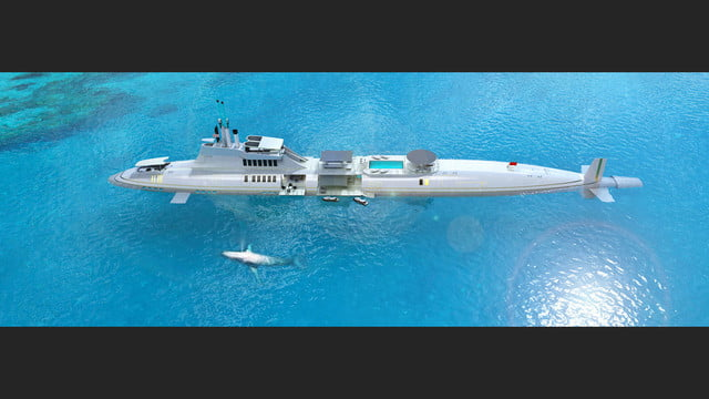 migaloo kokomo ailand is a moveable man made private island submersible superyacht 0022