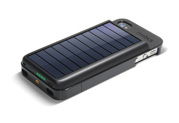 solar chargers for iphone mobius solar powered iphone charger by eton digital 16157