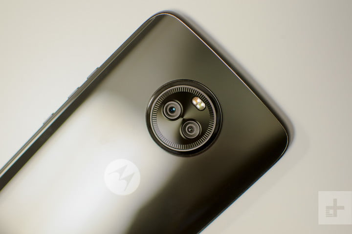 Moto X4 Android One review camera bump angle
