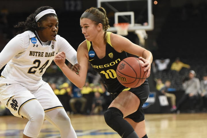 watch college sports live online espn plus ncaa basketball  mar 26 div i women s championship quarterfinals oregon v notre da