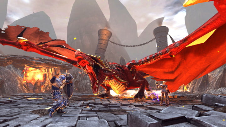 best mmorpgs available right now neverwinter