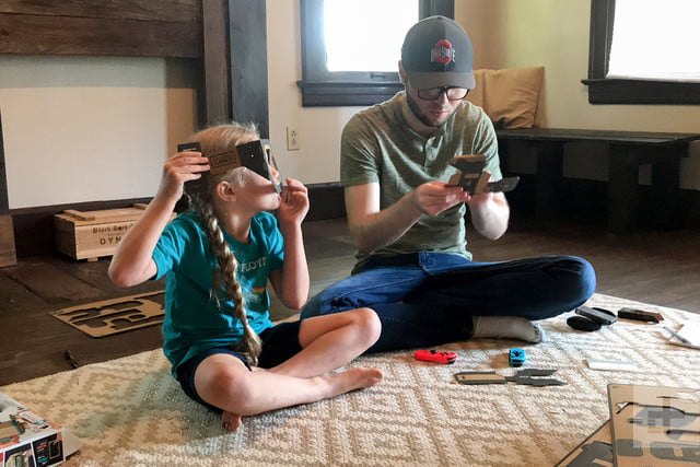 nintendo labo robot kit product experience review building