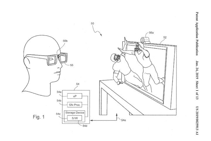 nintendo patent application 3d gaming nintendo3dtracking