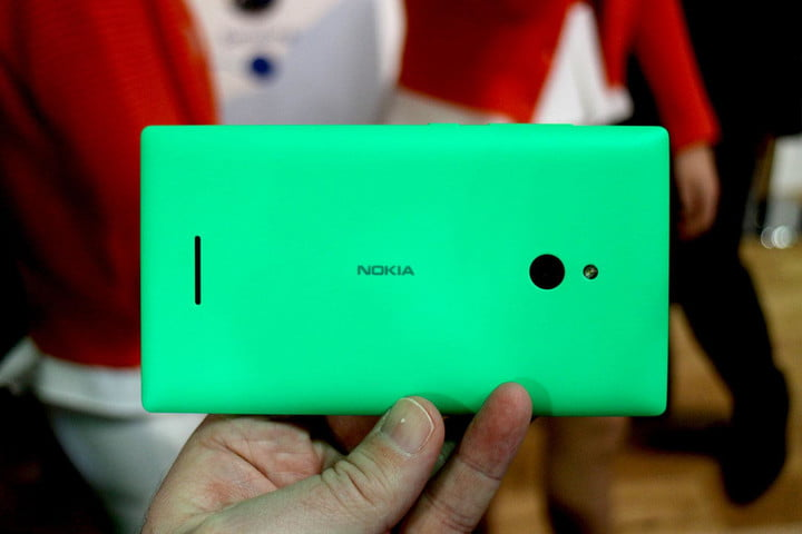 Nokia X Series green back landscape