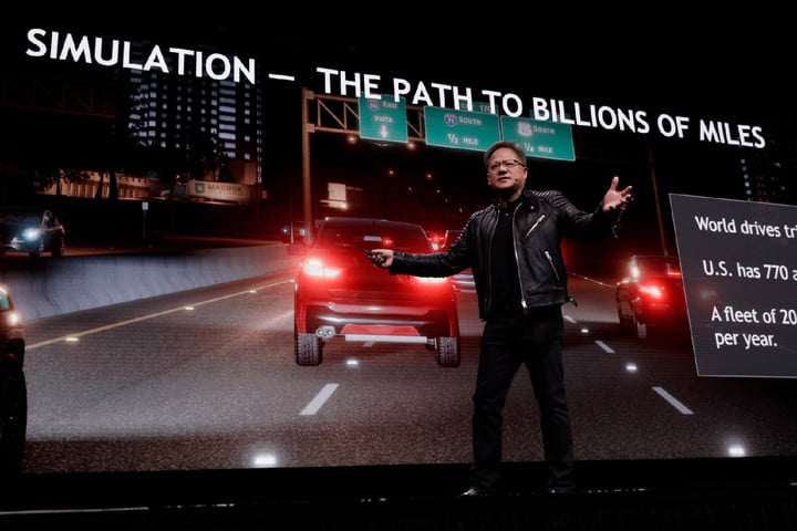 how nvidia is helping autonomous cars simulate their way to safety gtc path billions of miles