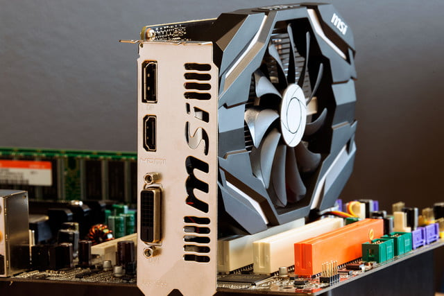 MSI GTX 1050 TI OC EDITION