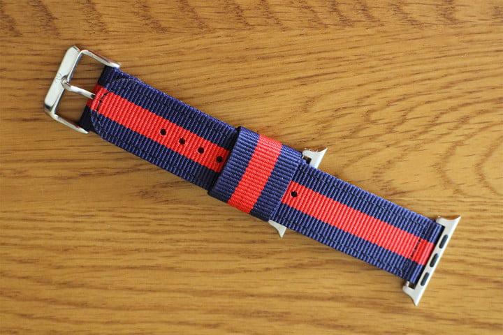 best Apple Watch bands Nyloon Watch Band bottom