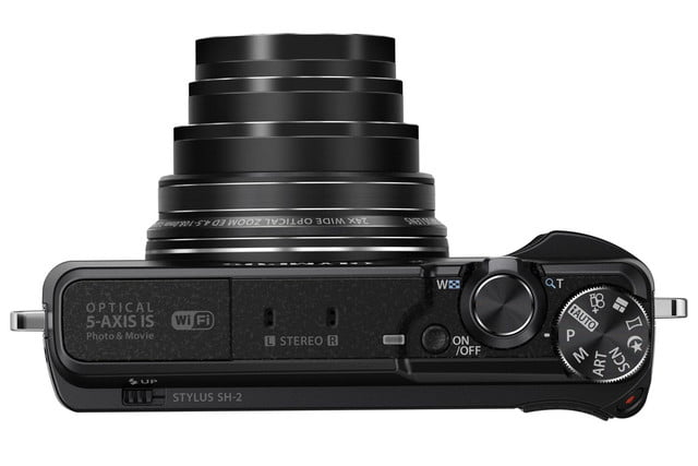 olympus stylus sh 2 compact camera retains 5 axis stabilization adds new night modes sh2 9