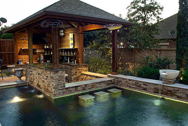 Pool Designs With Bar 12 amazing pools with swim-up bars | digital trends