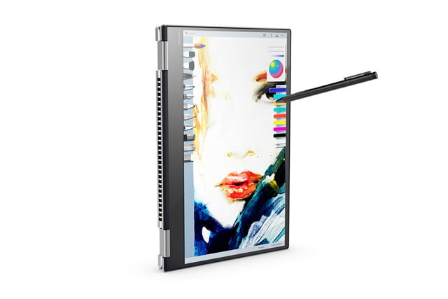 lenovo mwc refresh yoga miix flex tab4 optional active pen input with windows ink on 15 inch 720  2