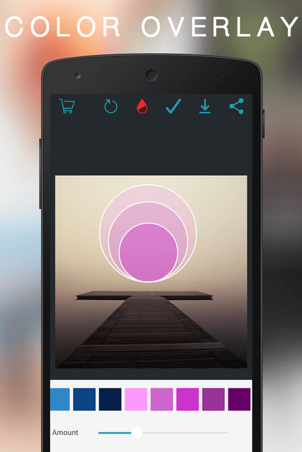 overam uses geometry to reshape photo editing on android color overlay