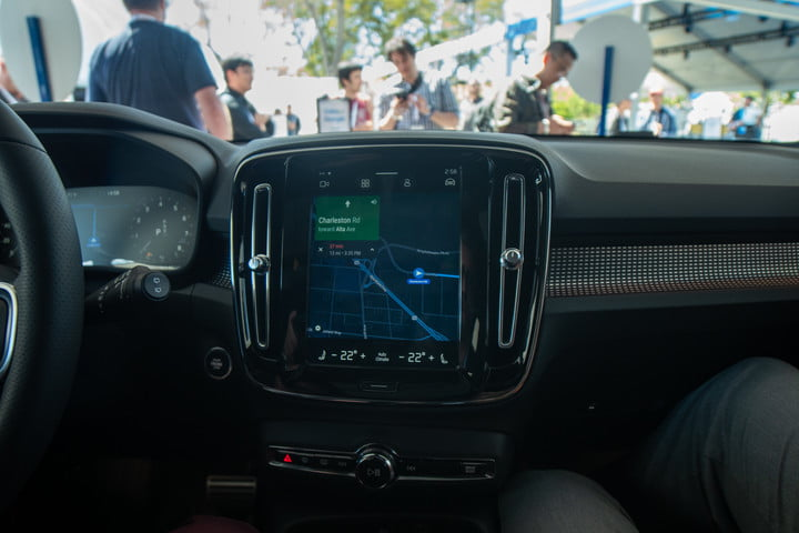 volvo android infotainment experience