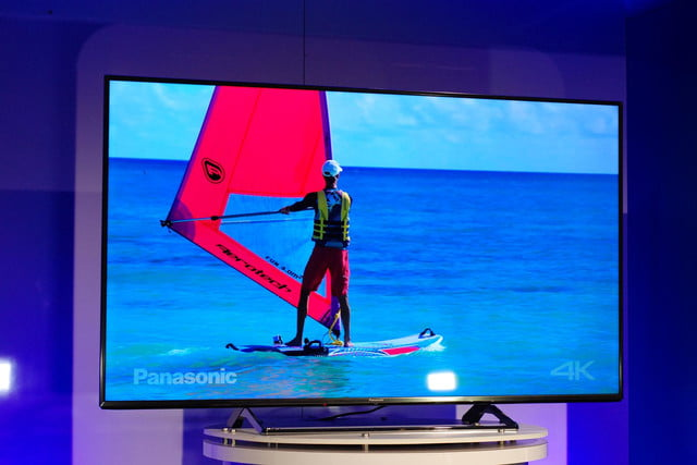 panasonic cx850 4k uhd tv at ces 2015 video 4