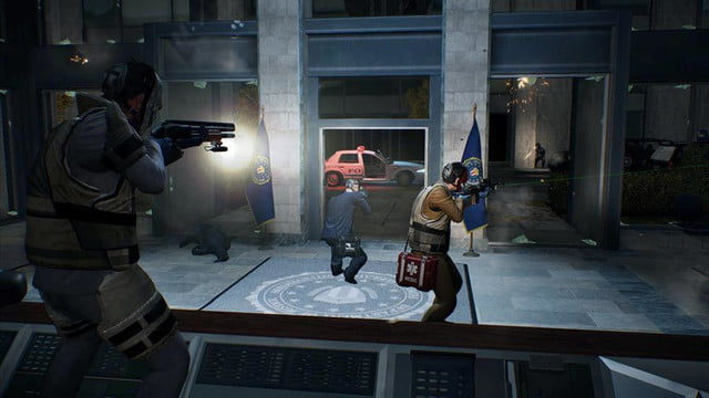 payday 2 screenshot office lobby