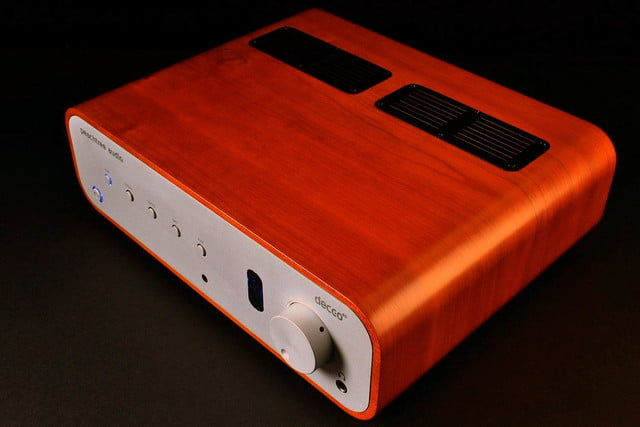 peachtree audio decco65 amplifier top angle full