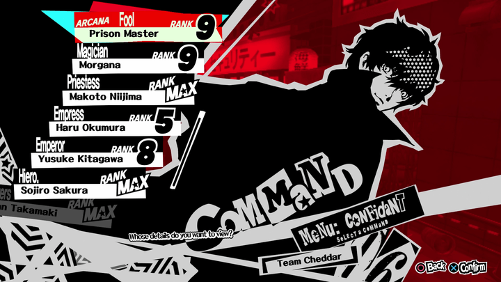 Persona 5' confidants and romance guide: Here's who to hang with ...