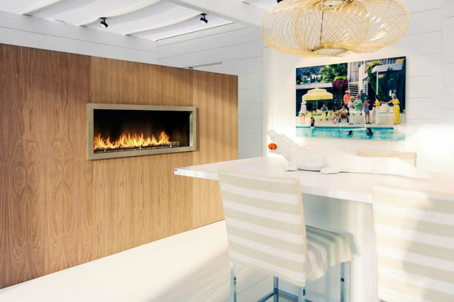 planikas new fireplace is smart and chimney less planika wall
