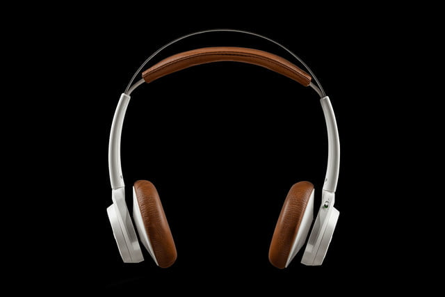 plantronics backbeat sense white straight on