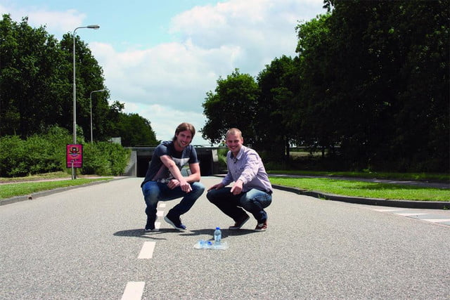 plasticroad plastic paving system piques interest in rotterdam road 3
