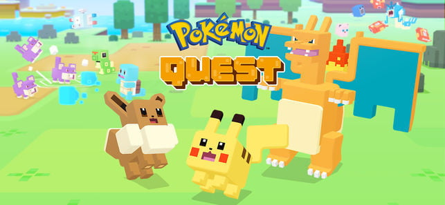 best iphone games pokemon quest ios 2