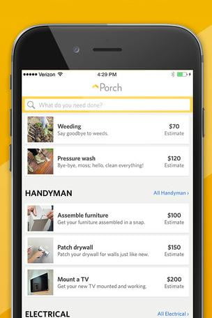 Porchs New App Helps You Find A Plumber Or Electrician In Under Minute  Porch Search