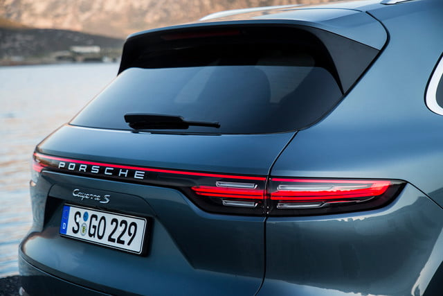 porsche cayenne s review back angle