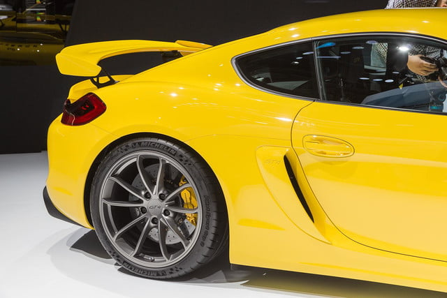 porsche cayman gt4 official pictures and specs 1