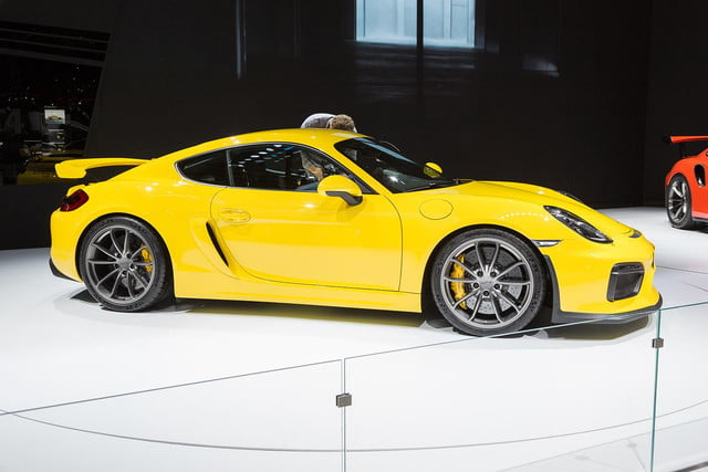 porsche cayman gt4 official pictures and specs 2
