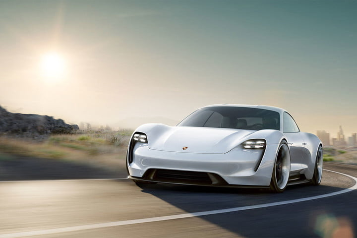 Porsche Taycan battery pack has foot garages to make the car hug the road better