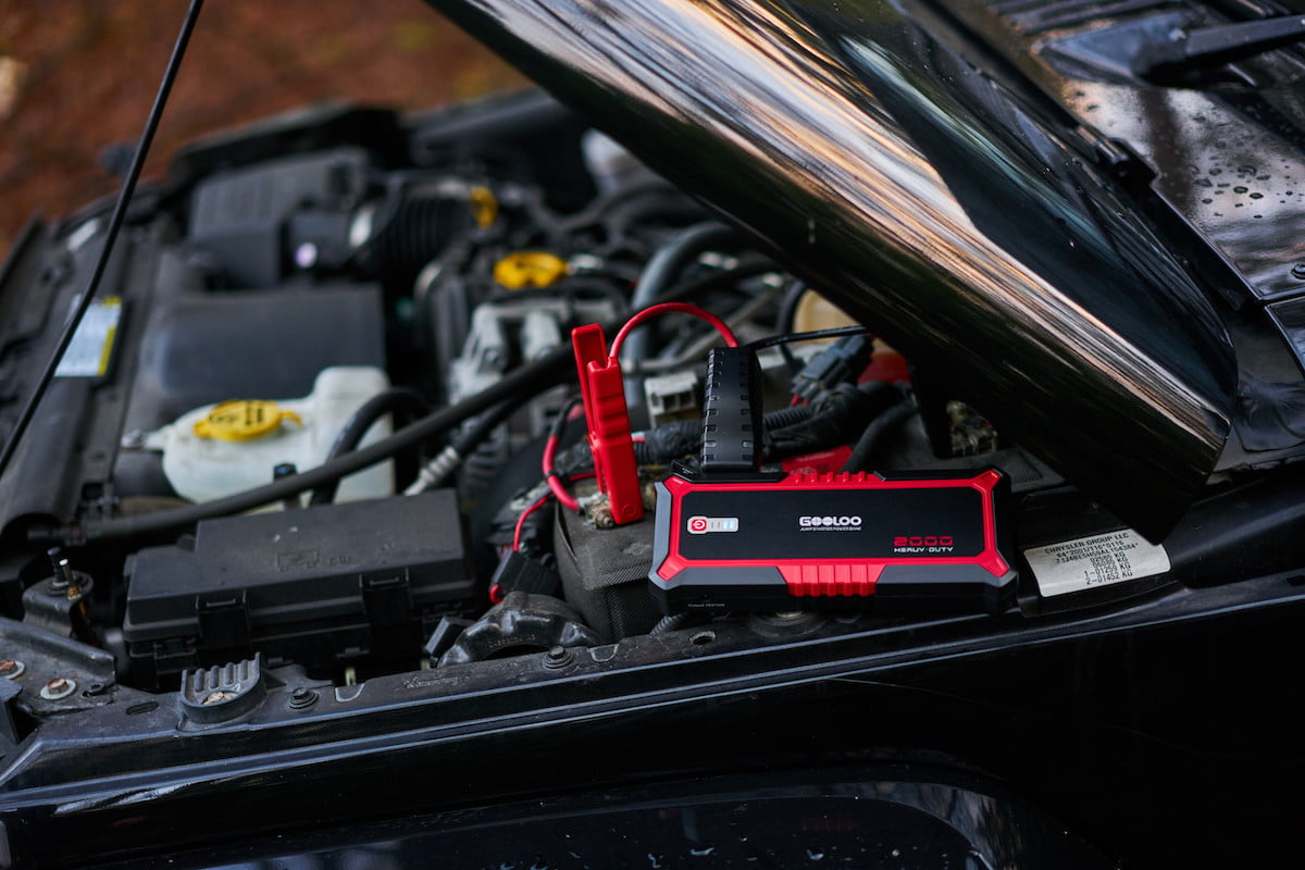 This portable jump-starter claims to be the most powerful ever made