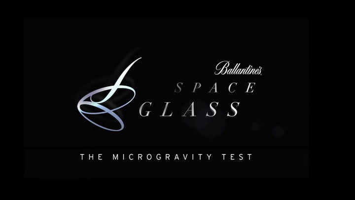 Ballantine's Space Glass Project: The Microgravity Test