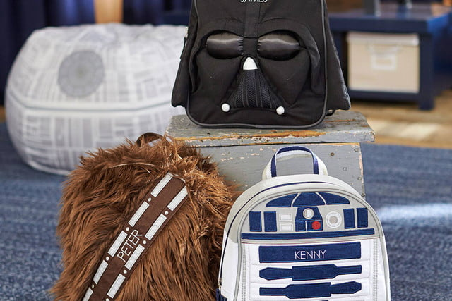 pottery barn has a 4000 star wars bed for sale  backpacks with sound 50