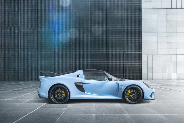 2018 lotus exige sport 410 details revealed professional use auto advertising backplate