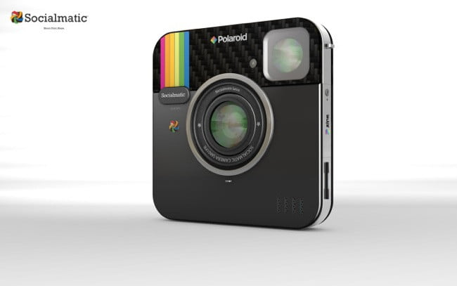 Socialmatic digital instant camera to be released under ...