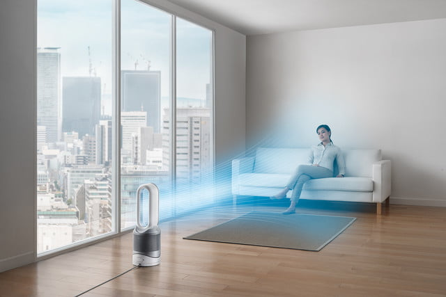 dyson pure hotcold link hot cool cooling fan in summer city