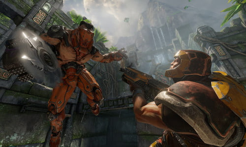 Strap Yourself In For 'Quake Champions' Gameplay Trailer | Digital