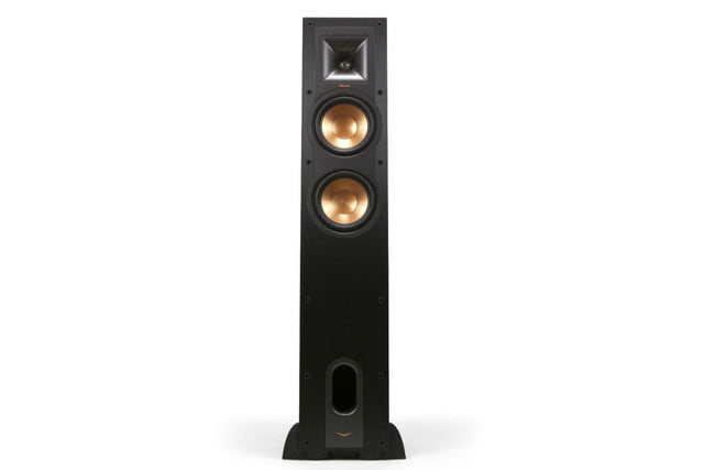 klipsch unveils stockpile new speakers reference home theater line r 26f front