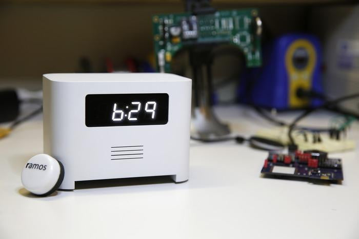 The Ramos Alarm Clock Forces You Out Of Bed With Bluetooth