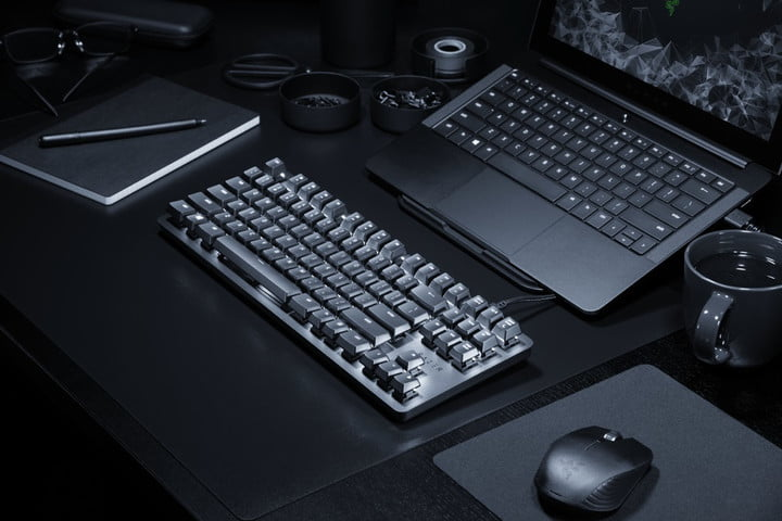 razers blackwidow lite is a mechanical keyboard designed for work and play razer press
