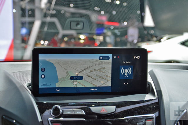 acura true touchpad infotainment system review rg rdx prototype 4