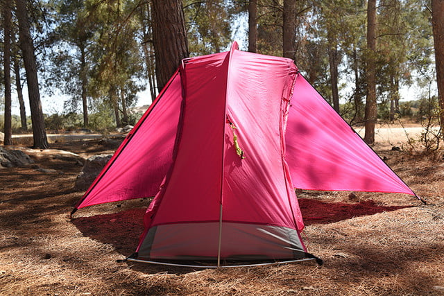 RhinoWolf Modular Attachable Super Tent pink