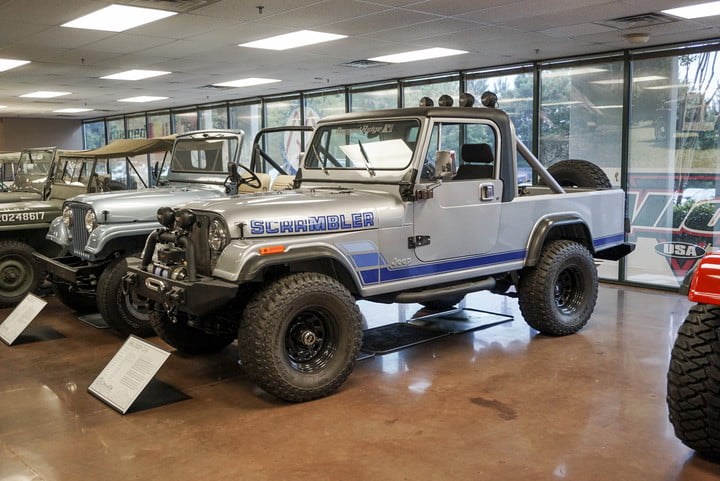 The 1983 Jeep CJ-8 at the Omix-ADA Jeep Collection