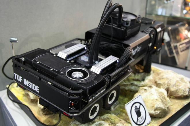 This Case And Base Pair Is Designed To Look Like A Tough As Nails Military Truck Roughing It Across Inhospitable Terrain The Motherboard Gtx An