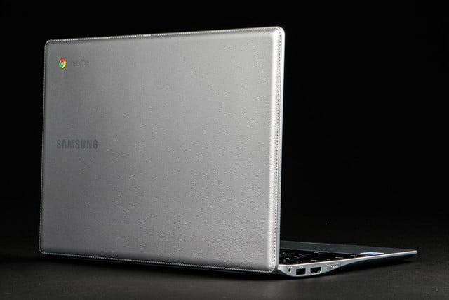 Samsung Chromebook 2 XE500C12-K01US review rear lid angle right